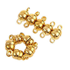 10 PCS Magnetic Clasp Gold Tone Metal 11 x 5 mm TOP T1