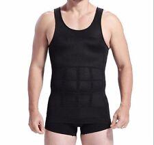 Male Slim Waist Trainer Corset Abdomen Underwear Vest Shirt Tank Top Shapewear