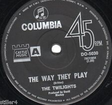 THE TWILIGHTS The Way They Play  *ORIGINAL AUSTRALIA COLUMBIA LABEL 70s*