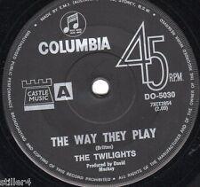 THE TWILIGHTS The Way They Play  *ORIGINAL AUSTRALIA COLUMBIA LABEL 70s*