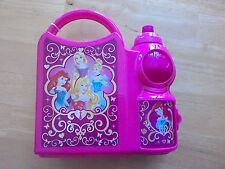 DISNEY PRINCESSES CHILDRENS Lunch Box With Sports Bottle School Set