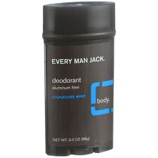 Every Man Jack Deodorant, Signature Mint 3 oz