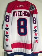 Reebok Premier Jersey Washington Capitals Ovechkin White Winter Classic sz XL