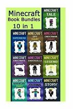 Minecraft Book Bundles : Minecraft 10 Books in 1 Minecraft Set (Minecraft,...