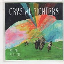 (HB877) Crystal Fighters, Follow / Swallow - DJ CD
