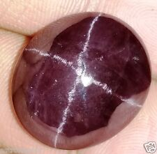 30.52 CT SIX SPIKES STAR GARNET GIE Certified 100% NATURAL Oval shaped Gemstone