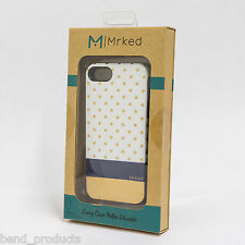 Mrked Empress Hybrid Case for iPhone SE  5/5s In Retail Packaging  Gold/Navy