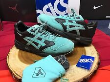 ASICS GEL SAGA RONNIE FIEG KITH DIAMOND BLACK TEAL AQUA MINT GREEN H50EK-9048 8