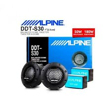"Cheap !!!!HOT NEW ALPINE DDT-S30 25MM 1"" SOFT DOME BALANCED CAR TWEETERS 360W"