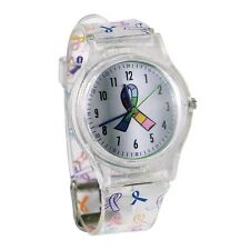 Nurse-Medical Multi-Ribbon Cancer Awareness Watch - FREE SHIP!