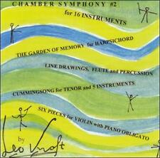 Leo Kraft: Chamber Works by Renee Jolles, Christopher  Oldfather cd