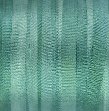 4mm Hand Dyed Silk Ribbon - 3 meters Spruce - Dolls House Miniatures Dressmaking