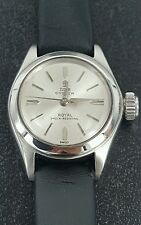 Vintage  Ladies Rolex  Tudor Oyster Royal Watch Dial Diameter 1.8cm
