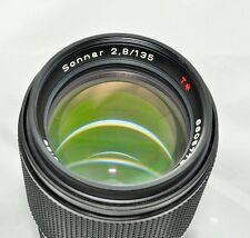 CONTAX Carl Zeiss Sonnar 135mm F/2.8 135 2.8 MMJ  from Japan