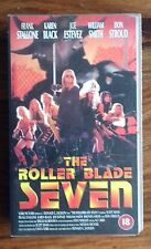 The Roller Blade Seven (VHS, 1994) Frank Stallone, Karen Black, Joe Estevez
