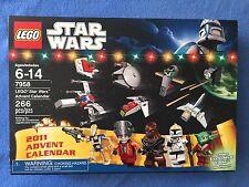 LEGO STAR WARS 2011 ADVENT CALENDAR 7958  NEW Free Shipping