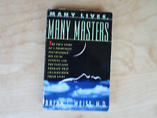 Many Lives Many Masters Brian Weiss 1988 Paperback Spiritual Past Lives New Age