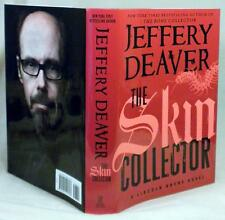 Jeffrey Deaver, THE SKIN COLLECTOR, Signed (title page), 1st/1st, New