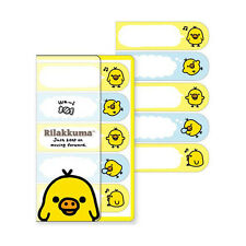 Store Pick-up OK San-X Rilakkuma Sticky Flags Kiiroitori