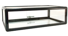 "Countertop Glass Showcase Retail Store Merchandise Display 30""Lx18""Dx9""H NEW"