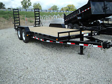 NEW PJ 20 FT EQUIPMENT TRAILER 14K GVW* OPEN HOUSE FR.5/6 SAT. 5/7 DR TRAILER