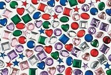 25 Self Adhesive Jewels Gems for Kids Crafts 1/2""