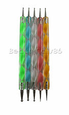 French Ball / Dotting Tool - 5er Set Nagelstudioser Nailart Pinsel