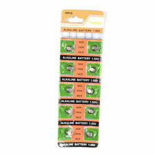 10x AG5 393 LR48 LR754 SR48 SR754 RW28 309 Alkaline Button Cell Watch Battery