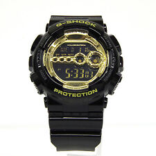 CASIO G-SHOCK GD-100GB-1JF BIG CASE Black × Gold Series Unused