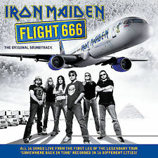 IRON MAIDEN - Flight 666 - 2 CD Boxset.- Live