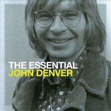 The Essential John Denver by John Denver (CD, 2007, 2 Discs, Sony Music...