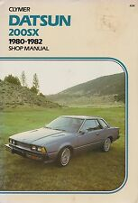1980-1982 Clymer Datsun 200SX Repair Manual
