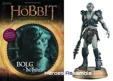 HOBBIT MOTION PICTURE COLLECTOR'S MODELS #6 BOLG THE ORC FIGURINE EAGLEMOSS LOTR