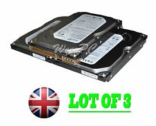 "Seagate 7200.10 ST3160215A 160GB IDE 3.5"" Desktop Hard Drive / Lot of 3"