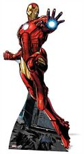 Iron Man Marvel Avengers Comic Cardboard Cutout Stand up Standee. At your Party!