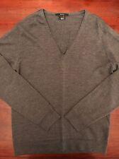 Para hombres Gucci Jersey de cuello en V gris. tamaño Grande. 100% Auténtico! RRP £ 400!