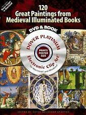 120 Great Paintings from Medieval Illuminated Books Platinum DVD and Book (Do...