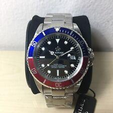 Orologio Submariner Reginald  Pepsi Mm 40 W.r. 3 Atm 2115  Watch Nuovo
