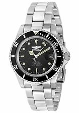 Invicta Men's Pro Diver Automatic 200m Black Dial Stainless Steel Watch 8926OB