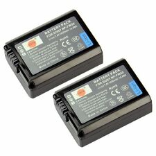 DSTE® 2x NP-FW50 Rechargeable Li-ion Battery for Sony Alpha 7, a7, Alpha 7R, a7
