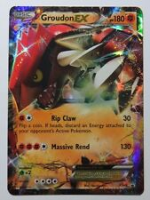GROUDON Ex-xy42-ULTRA RARA PROMO Pokemon Card
