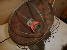 vintage antique sterling copper dish radiant space heater chicago elect co works