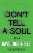 BUY 2 GET 1 FREE Don't Tell a Soul by David Rosenfelt (2009, Paperback)