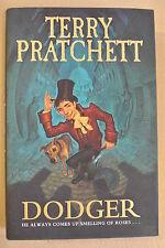 Book. Dodger by  Terry Pratchett. First edition published in 2012 by Doubleday.