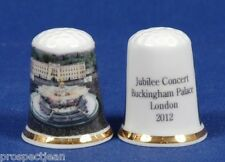 """SPECIAL OFFER"" Jubilee Concert London Buckingham Palace 2012 China Thimble B/87"