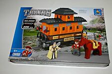 Ausini TRAINS Set#25505 Building Block Toy 226pcs city,horse,car(lego compatible
