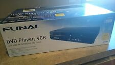 Funai DV220FX5 Combination VHS,DVD and CD Player - with line in record NEW SEAL