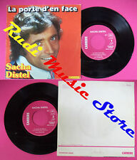 LP 45 7'' SACHA DISTEL Le porte d'en face Le diable m'appelle 1977 no cd mc dvd