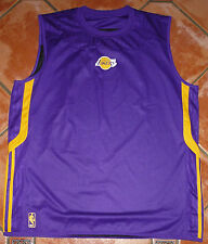 ADIDAS NBA LOS ANGELES LAKERS Winter Hoops Reversibile Men's Tank Top AFFARE NR