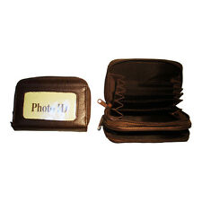 Lady's Wallet Genuine Leather-Brown